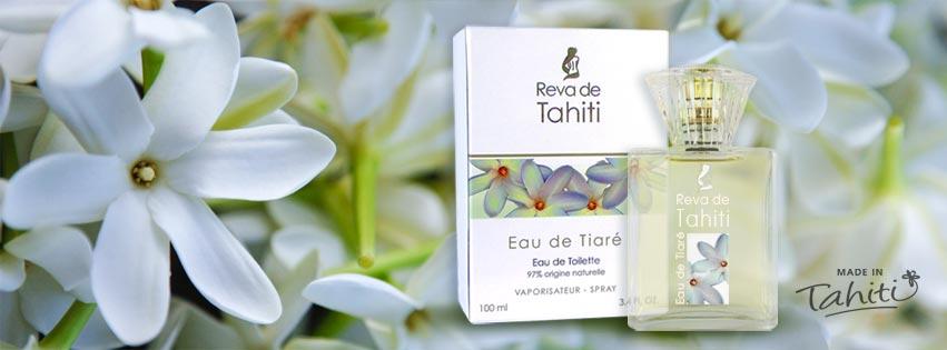 EAU DE TIARE REVA NATURELLE FABRIQUÉE À TAHITI