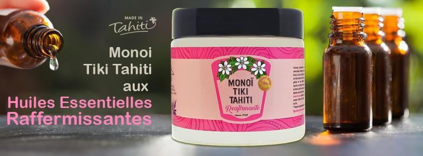 MONOI TIKI TAHITI ENRICHI D'HUILES ESSENTIELLES ACTIVES