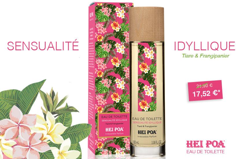 Sensualité Idyllique Hei Poa Collection 2019 Tiare &Frangipanier
