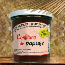 CONFITURE ARTISANALE LYCEE AGRICOLE MOOREA 350G PAPAYE