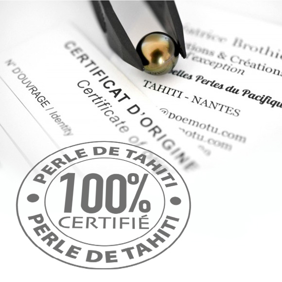 Certificat d'authenticité Poemotu.