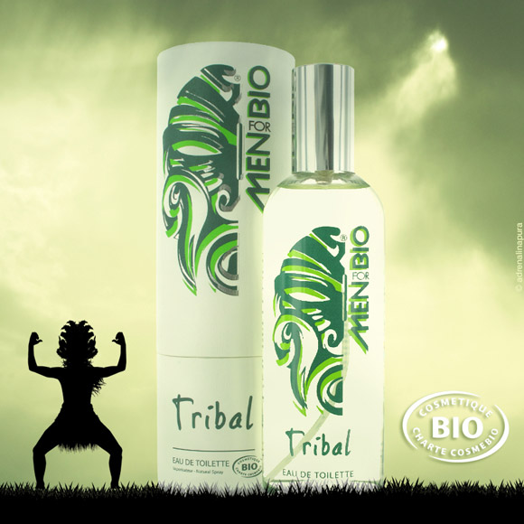 EAU DE TOILETTE TRIBAL BIO FOR MEN 100ML