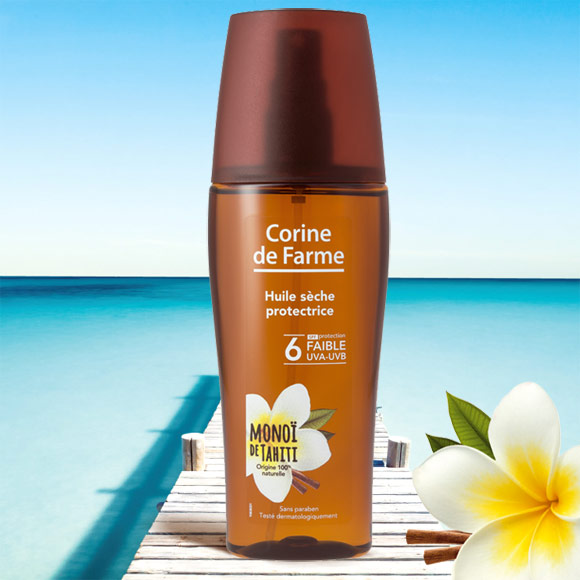 HUILE SECHE PROTECTRICE FPF6 150ML SPRAY CORINE DE FARME