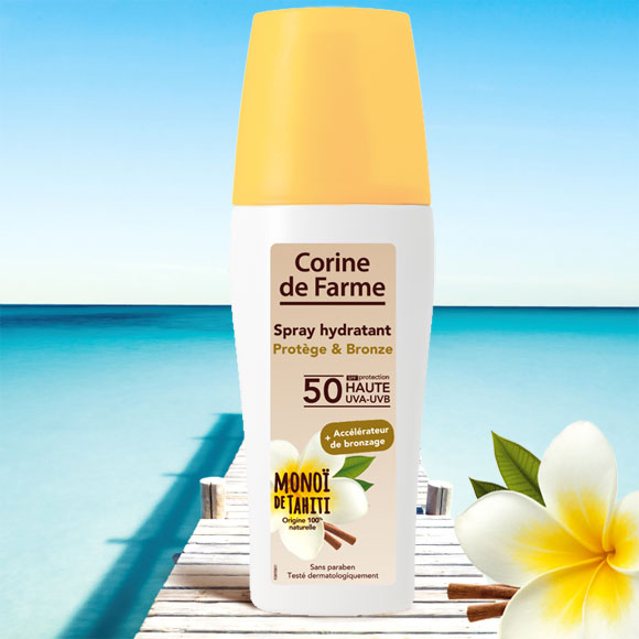 SPRAY HYDRATANT 150 ML PROTEGE ET BRONZE SPF50