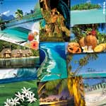 Carte postale pacific images