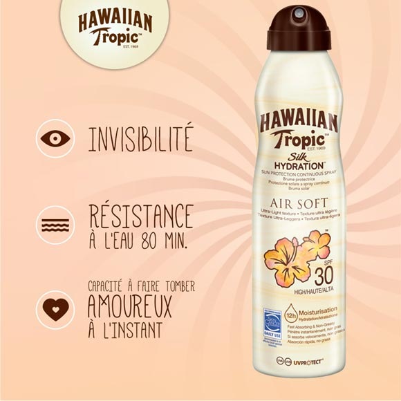NEW BRUMES PROTECTRICES HAWAIIAN TROPIC
